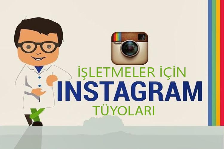 İşletmeler İçin Instagram Tüyoları | Infografik